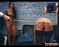 Strict English spanking part 2