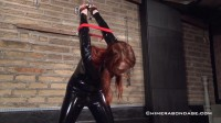 Sweet girl in extreme tied and gagged hard action. enjoy!