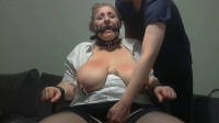 Amateur Bbw Slave Training - Ass and huge natural boobs whipped hard