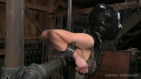 Tight bondage, spanking and torture for sexy naked model