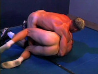 Wrestled Loser Has To Suck Cock