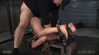 Final part of Devilynne's BaRS show with epic dicking down in strict piledriver bondage!