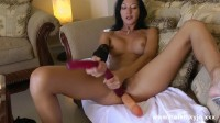 Amazing woman hot kinky jo extreme play in couch, hard dildo self fuck. Enjoy!