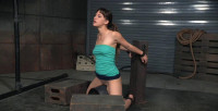 Deepthroat Devilynne Does A Live Bars Show Bound To A Sybian