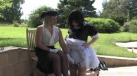 The English Mansion - Correcting My Sissy Maid - Domination HD (strap on, rough, extreme).