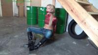 HunterSlair — Bella Lovez — Handcuffed captive of the cruel perverts