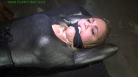 Stretched across his table for bound made orgasms