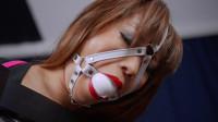 Restricted Senses – Chair Bound Polka Dot School Girl