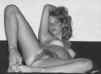Retro pictures. Black and white. Part 1.