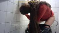 Hidden Camera In The Student Toilet
