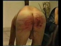 Extreme German Ass Punishment For Slave