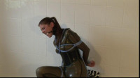 Sexy Rubber Slave Julia Power