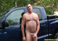 Daddy Washing His Truck