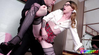 Big Dick Professor Fucks TS Schoolgirl Kelly Lovely