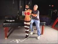 Drea Hooters (english, bdsm, action, gag)