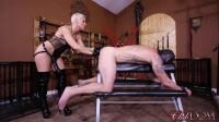Black Strap-on Cock Fucking (pegging, man, slut, slave)