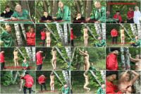 Russian Slaves Vol.83 - Punishment in the Village Club