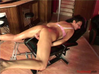 Ildiko hard anal fuck with a sexmachine