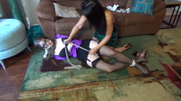 Haughty Lawyer Terra Mizu Hogtied