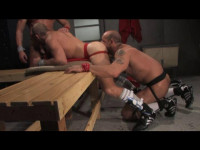 Domination Anal With Muscle Athletes