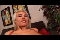 Masturbating Blond Surprised By Neighbor