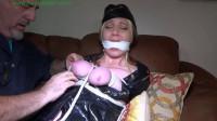 Smuggling stewardess made orgasm interrogation