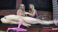 Cali and Kenzie Edging Salon Teasers Demonstrate Ruined Orgasm Techniques (2016)