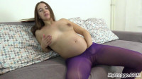 Mara Slowly Strips Naked and Masturbates Loudy!