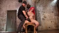 Voluptuous Sex Kitten in Brutal Bondage and Ass Fucked