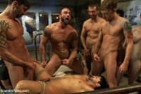 Download Dominic Pacifico gang fucked & pissed on by strange men