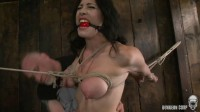 Kymberly Jane (bondage, tit, pain)