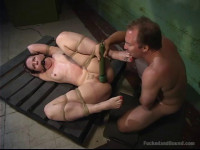 Caroline Piere is put into a Bondage 69 - Only Pain HD