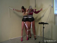 Sandra Silvers, Pepper Sterling & Fayth on Fire