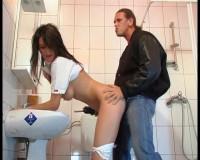 Washing bitch