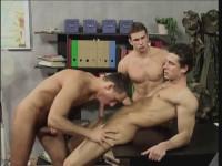 Deep anal at barracks