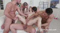 Download Rough welcome gangbang with double penetration