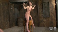 Local Hollywood Hottie, Sadie, Is Perched Upon a Sybian