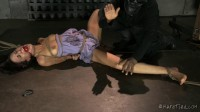 Lyla Suffers and Squirms Until She Earns A Rough Fuck (vid, snatch, spanking, black cock)