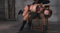 Tiny Asian Marica Hase gets bound, spanked and completely destroyed by epic deepthoat (2014)