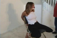 Bondage Video: Tied, Gagged, Exposed And Robbed!