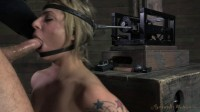 SexuallyBroken - Beautiful Dahlia Sky bolted onto sybian January 31, 2014