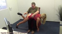 Real life spankings - Esther's first spanking - during, panties, naughty.