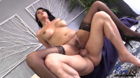 Busty latina Dahlia gets fucked by her man.
