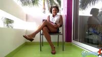 Schoolgirl Leg Show Cancun