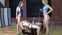 Alexa Rydell & Harley TENS Limit Tested While Facesat And Milked (play, pain, new).