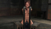 Savannah Fox - Sexy sybian slut shackled down and facefucked without mercy by BBC (2015)