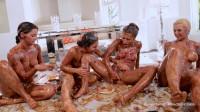 Gabriella Paltrova Adriana Chechik Hope Howell Messy Girls Part 2 The Last Supper