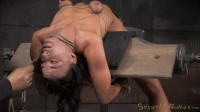 London River - Bendy newbie bent over backwards and throatfucked without mercy (2015)