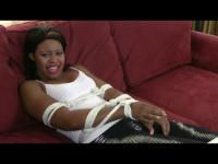 Beautiful Ebony Girl Takes Escape Challenge