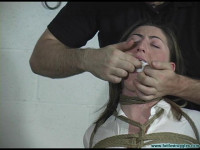 Equestrian Disciplined with Tight Bondage and a Tighter Gag 2part – BDSM